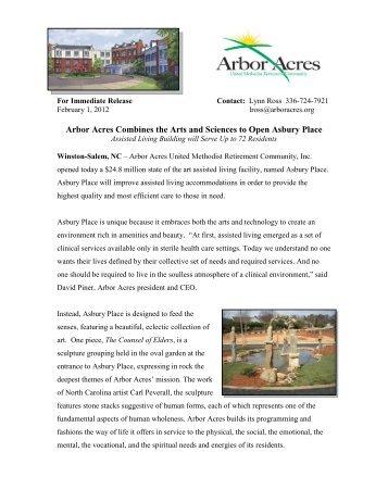 Read More - Arbor Acres