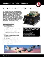 Data Sheet - L-3 Communications
