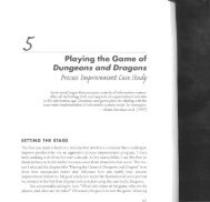 Playing the Game of Dungeons and Dragons - USC Center for ...