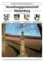 Ausgabe 10 / 2013 - Markt Weidenberg