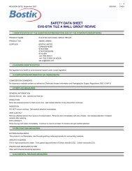 179886 COSHH Datasheet (PDF) - Travis Perkins