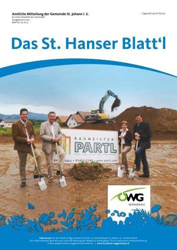 Download als PDF-Dokument - St. Johann im Saggautal