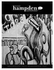 June 2011 (pdf) - Hampden Community Council