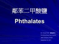 如何符合歐美市場對兒童產品的phthalates管制要求