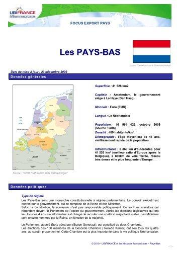 Les PAYS-BAS - ILE-DE-FRANCE INTERNATIONAL