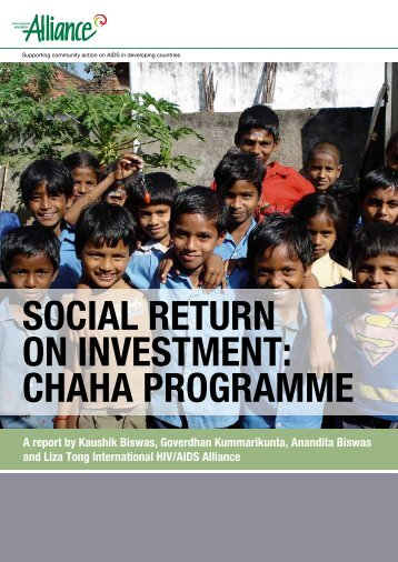 Social RetuRn on inveStment: cHaHa PRogRamme - Bond