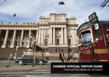 Chinese OffiCial VisitOr Guide - Destination Melbourne