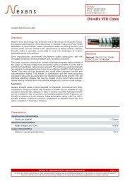 DriveRx VFD Cable - Nexans