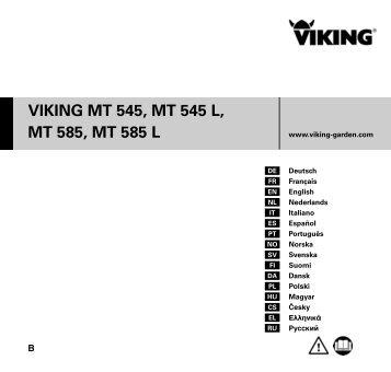viking mt 545 mt 545 l mt 585 mt 585 l. Black Bedroom Furniture Sets. Home Design Ideas