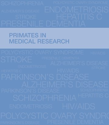 Primates in medical research - Wellcome Trust