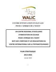 plan strategique 2013-2022 - International Trypanotolerance Centre