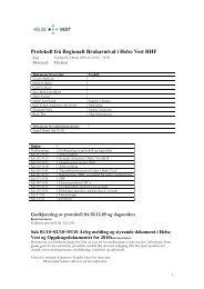 2010-02-02 Protokoll - Helse Vest