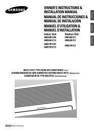 OWNER'S INSTRUCTIONS & INSTALLATION MANUAL ... - Quietside