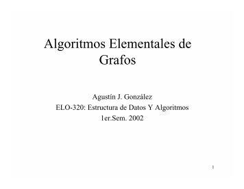 Algoritmos Elementales de Grafos