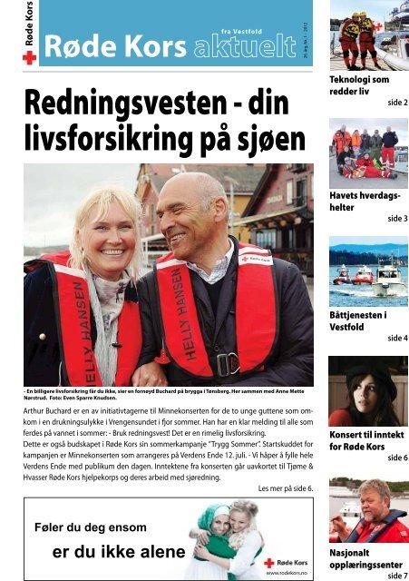 Redningsvesten - din livsforsikring på sjøen - Røde Kors