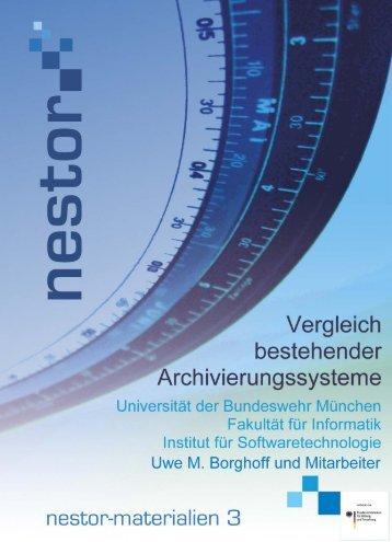 Vergleich bestehender Archivierungssysteme - edoc - Humboldt ...