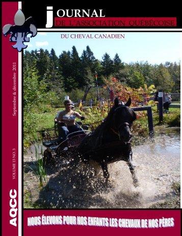 Volume 13-3 Septembre et Décembre 2011 - Association ...