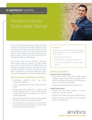 Amdocs Home Subscriber Server