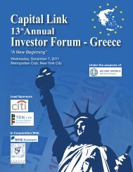 Forum Journal - Capital Link Forum