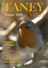 Dates for your diary Holy Week and Easter in Taney Holy Week and ...