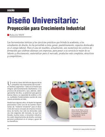 Diseño Universitario: - Revista El Mueble y La Madera
