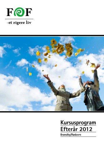 Download kursusprogram her - FOF