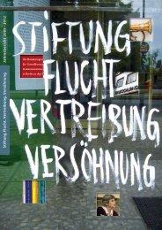 Jahresbericht 2009-2012 [PDF] - Stiftung Flucht, Vertreibung ...