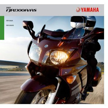 FJR1300A/AS - Yamaha Motor Europe