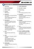 ZE-NC3811D - Zenec - Page 5
