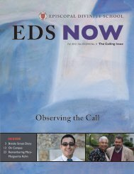 Fall 2012 Issue [PDF] - Episcopal Divinity School