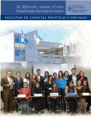 trabajo social - Universidad Rafael Landívar