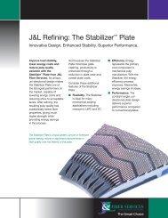 Download Stabilizer™ Plate Brochure - J&L Fiber Services, Inc.