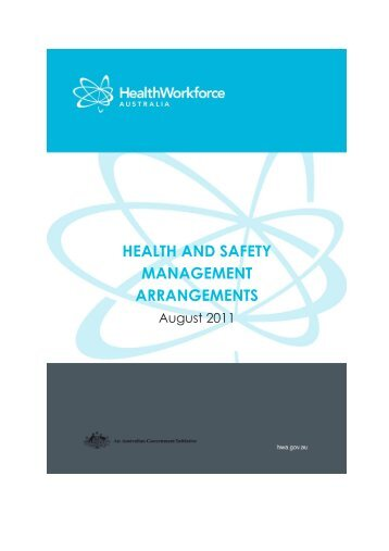 Document Information - Health Workforce Australia