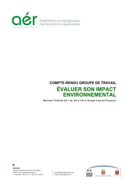 Compte-rendu GDT Indicateurs (pdf) - Arcade PACA