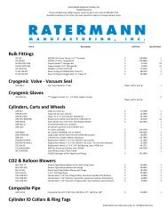 Check out our Summer Specials!!! - Ratermann Manufacturing Inc