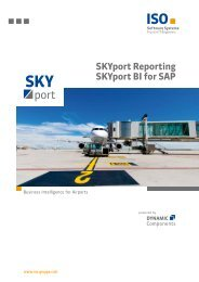 Brochure Business Intelligence for Airports - ISO Software Systeme