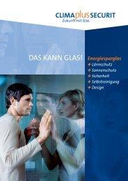 Die CLIMAPLUS-SECURIT-Partner - ECKELT GLAS GmbH