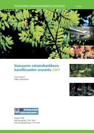 Kasvillisuuden seuranta 2007 - Helsingin Satama