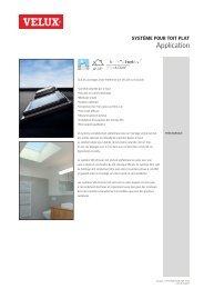 Système pour toit plat