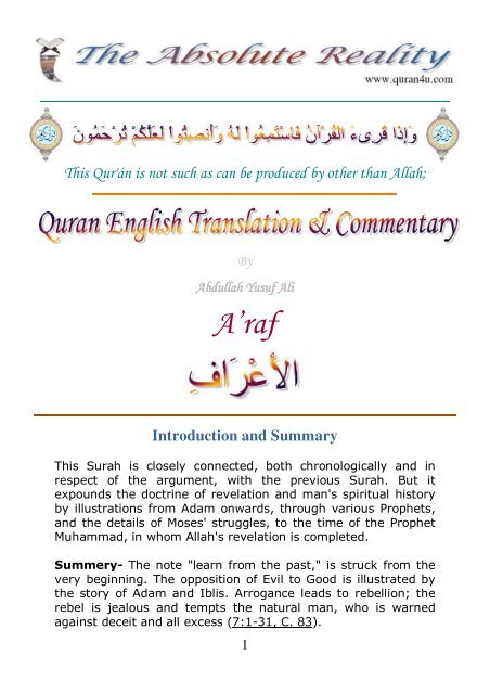 Chronological order of revelation of quran