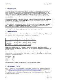 NOTE PDF/A