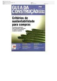 Título: Compra com critério Veiculo: Revista Guia da ... - CBCS