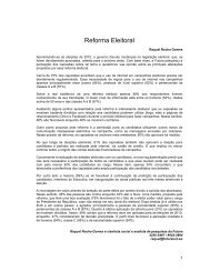 Reforma Eleitoral - FuturaNet