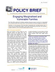 Engaging Marginalised and Vulnerable Families - The Royal ...