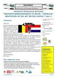 nieuwsbrief 23 Belgie Nederland insecticiden - MV - PCS