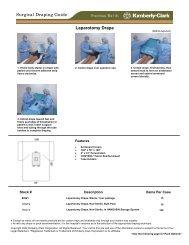 Laparotomy Drape Surgical Draping Guide