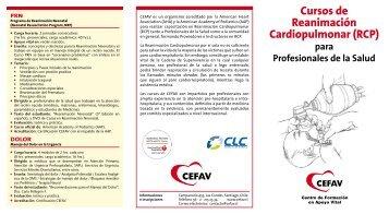 Cursos de Reanimación Cardiopulmonar (RCP) - Clínica Las Condes