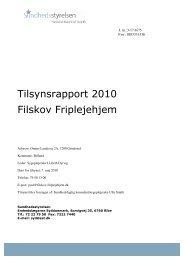 2010 - Filskov Friplejehjem, Embedslægens ... - Billund Kommune