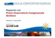 Osservatorio Congressuale Siciliano 2011 - Event Report