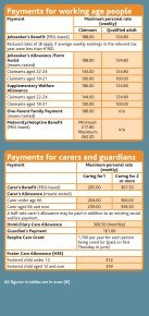 Benefits and Taxes 2011 leaflet (pdf) - Citizens Information Board - Page 2